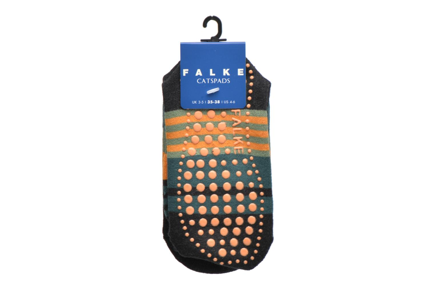 Socks & tights Falke Chaussons-chaussettes Irregular Stripe Catspads Multicolor back view