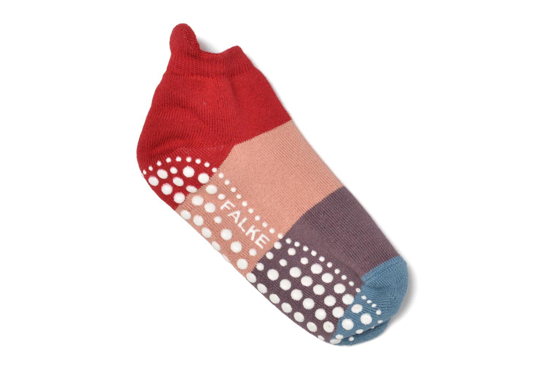 Strumpor och strumpbyxor Falke Chaussons-chaussettes Colour Block Catspads Multi detaljerad bild på paret