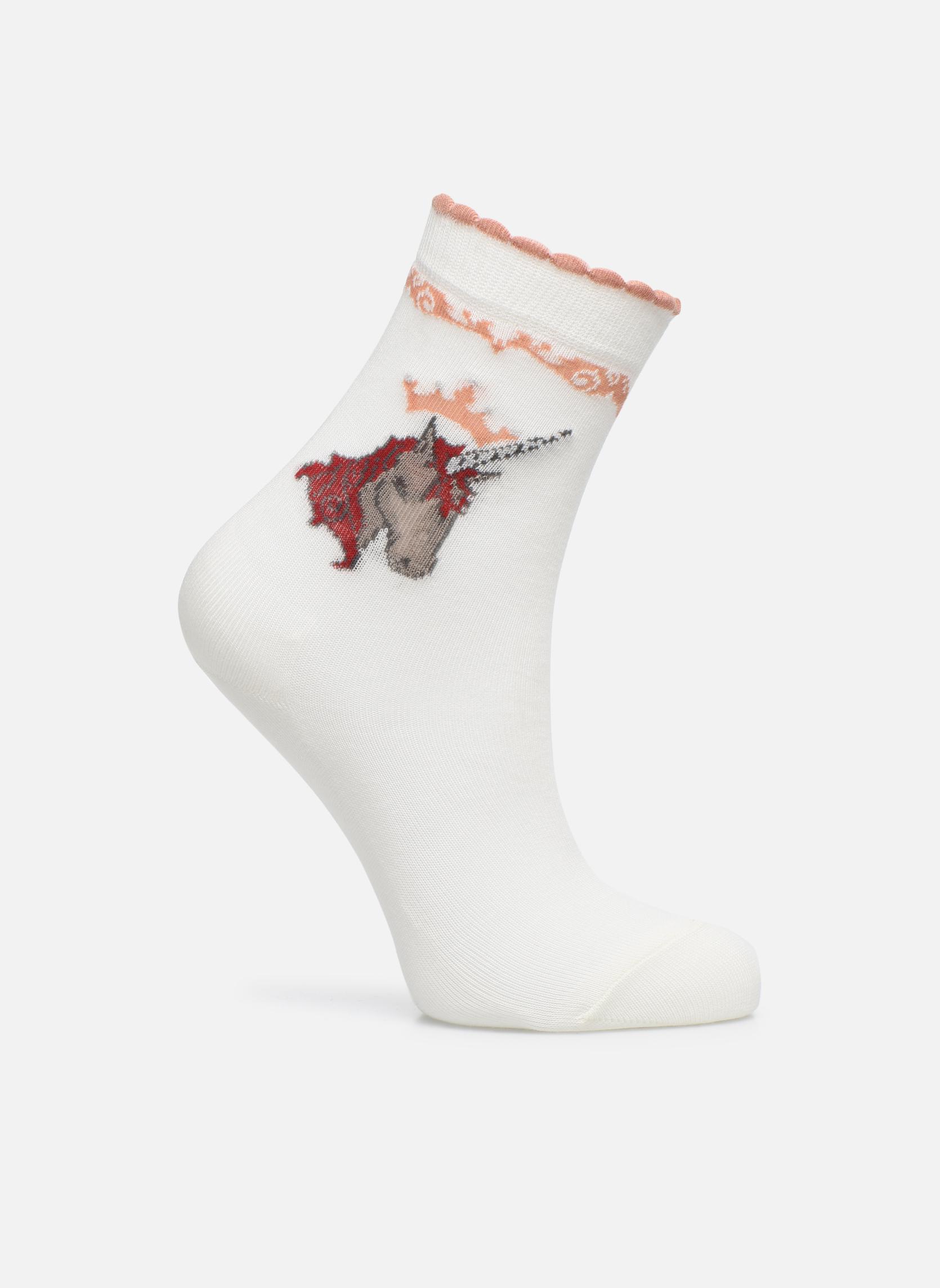 Sokken en panty's Falke Chaussettes Unicorn Wit detail