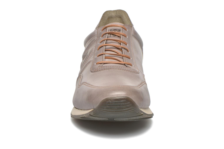 Baskets El Naturalista Handcraft ND91 Gris vue portées chaussures
