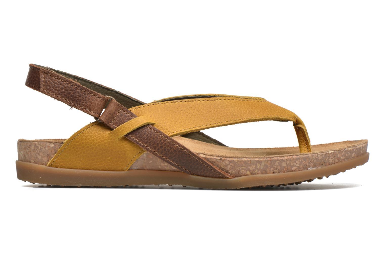 Sandales et nu-pieds El Naturalista Zumaia NF40 Jaune vue derrière