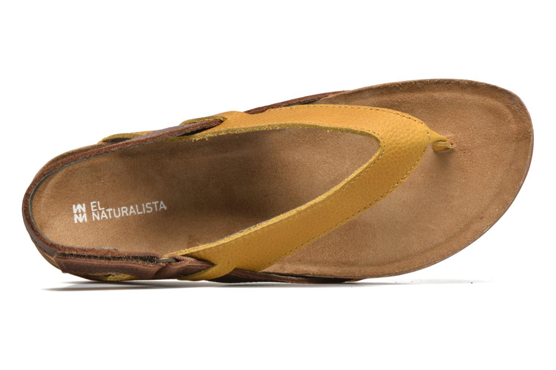 Sandales et nu-pieds El Naturalista Zumaia NF40 Jaune vue gauche