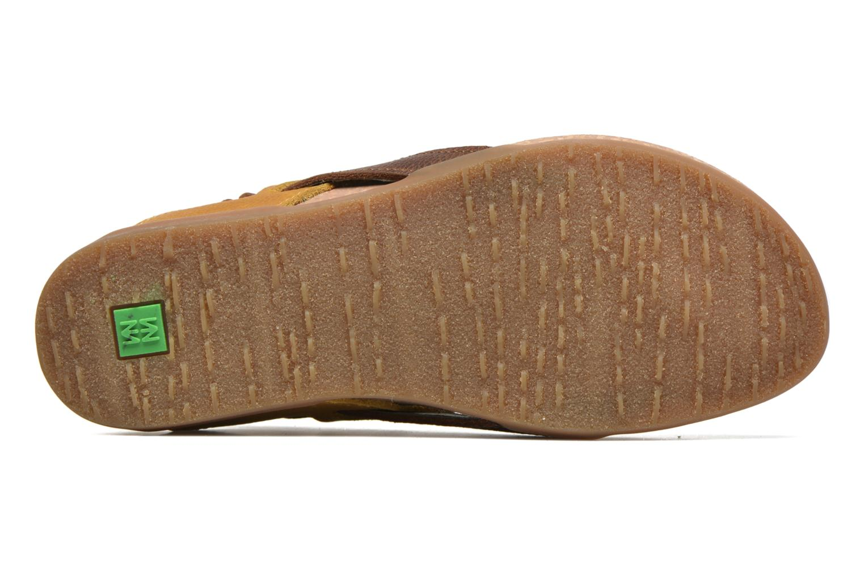 Sandales et nu-pieds El Naturalista Zumaia NF40 Jaune vue haut