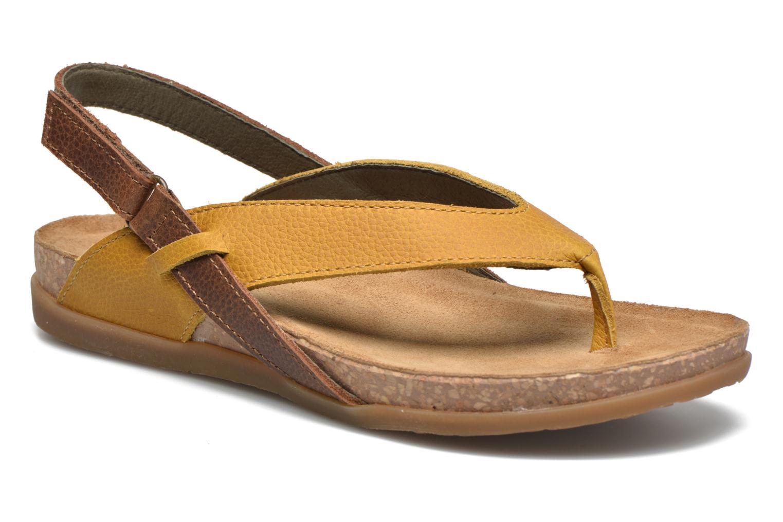 Sandales et nu-pieds El Naturalista Zumaia NF40 Jaune vue détail/paire