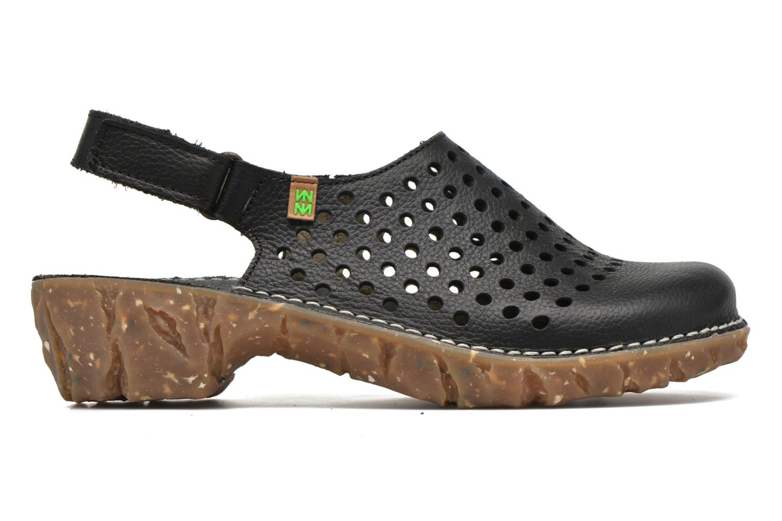 Mules & clogs El Naturalista Yggdrasil NE24 Black back view