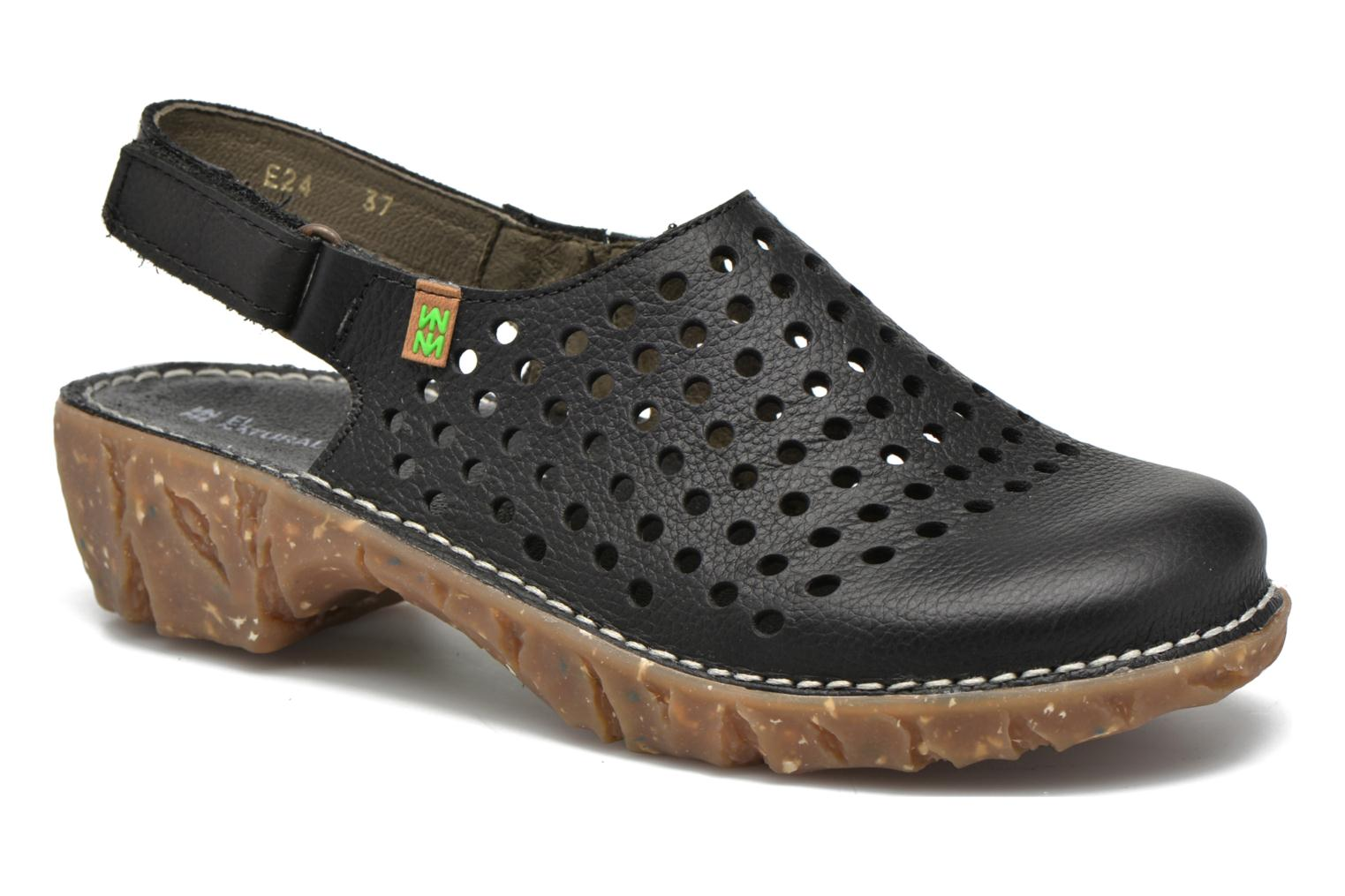 Mules & clogs El Naturalista Yggdrasil NE24 Black detailed view/ Pair view