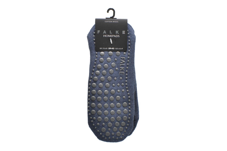 Chaussettes et collants Falke Chaussons-chaussettes Cuddle Pads Bordeaux vue derrière