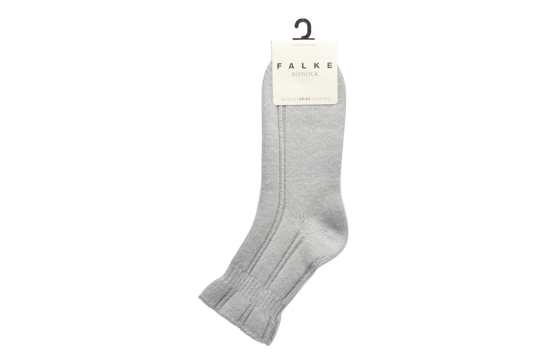 Socken & Strumpfhosen Falke Chaussettes Bedsock grau ansicht von hinten