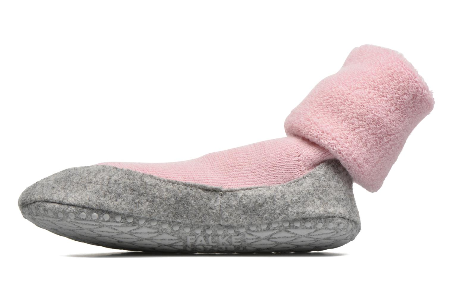 Socks & tights Falke Chaussons-chaussettes Cosyshoe Pink front view