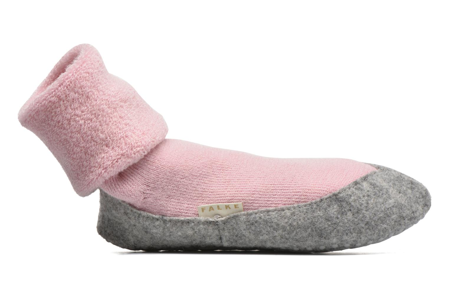 Socks & tights Falke Chaussons-chaussettes Cosyshoe Pink back view