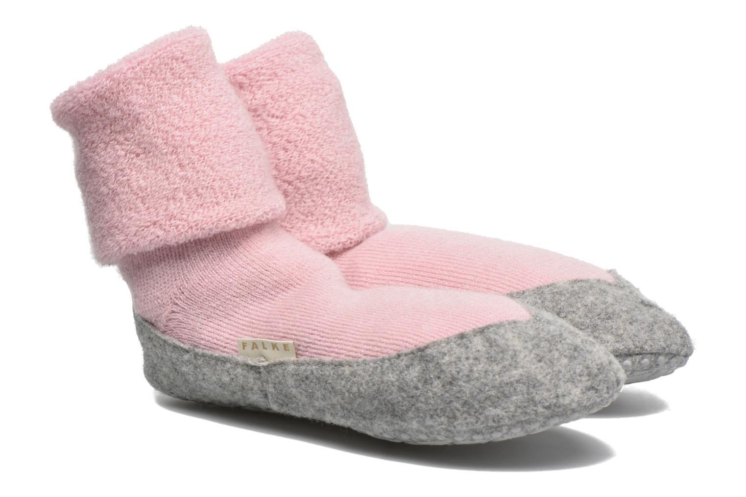 Socks & tights Falke Chaussons-chaussettes Cosyshoe Pink detailed view/ Pair view