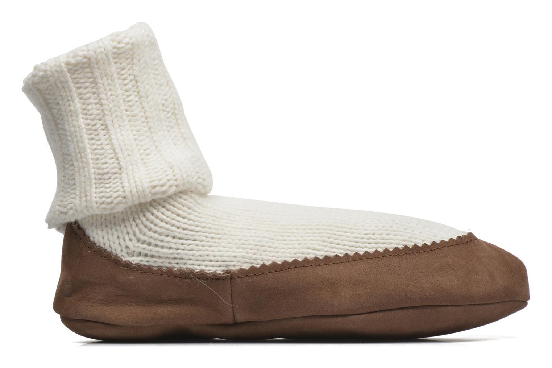 Medias y Calcetines Falke Chaussons-chaussettes Cottage Socke Blanco vistra trasera