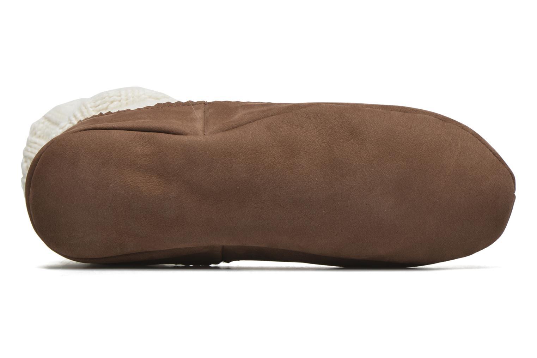 Chaussettes et collants Falke Chaussons-chaussettes Cottage Socke Blanc vue haut