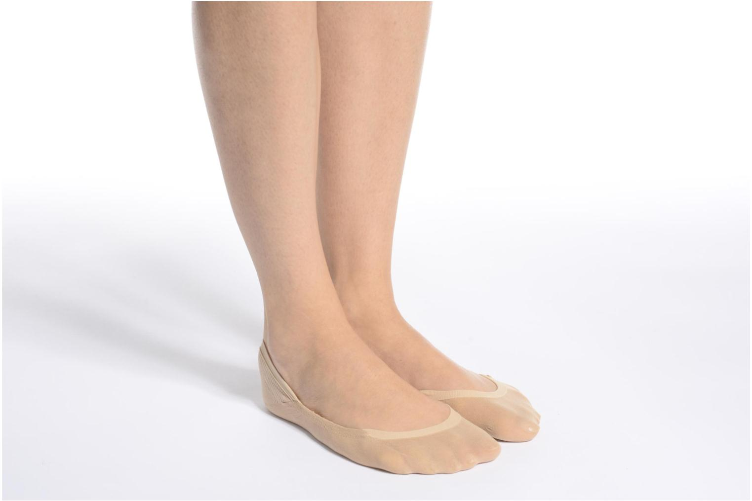 Socks & tights Falke Chaussettes invisibles Cotton step White view from above