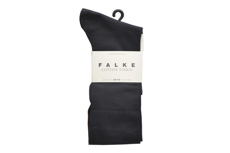 Sokken en panty's Falke Chaussettes hautes Cotton Touch Blauw detail