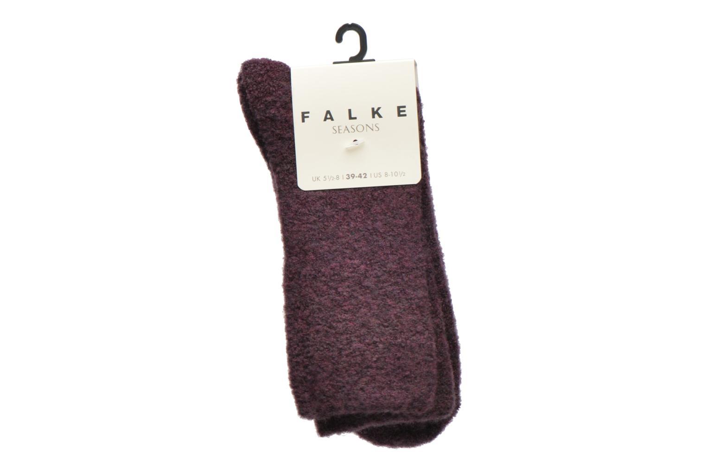 Socken & Strumpfhosen Falke Chaussettes Ascetic lila ansicht von hinten