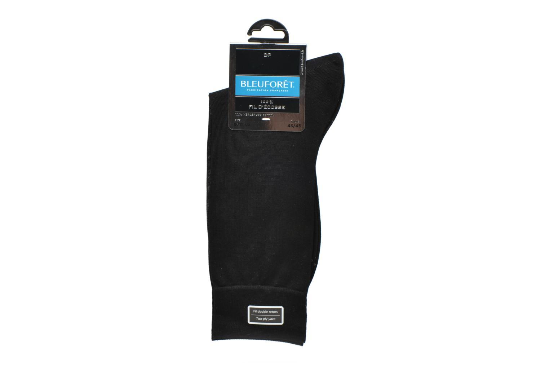 Socks & tights BLEUFORÊT Chaussettes 100% Fil d'Ecosse Black back view
