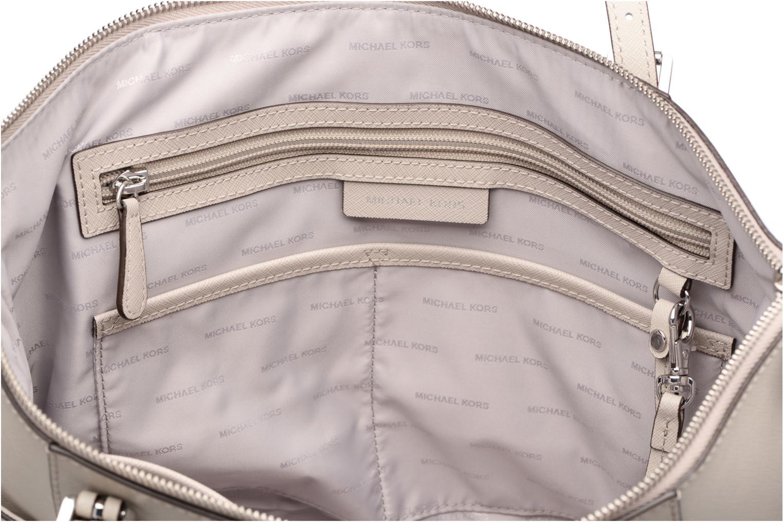 Handtaschen Michael Michael Kors JET SET ITEM EW TZ Tote grau ansicht von hinten