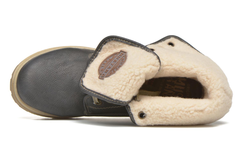 Stivaletti e tronchetti Mustang shoes Alina Azzurro immagine sinistra