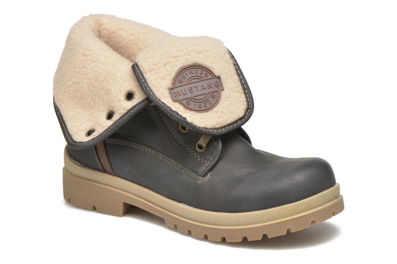 Stivaletti e tronchetti Mustang shoes Alina Azzurro vedi dettaglio/paio