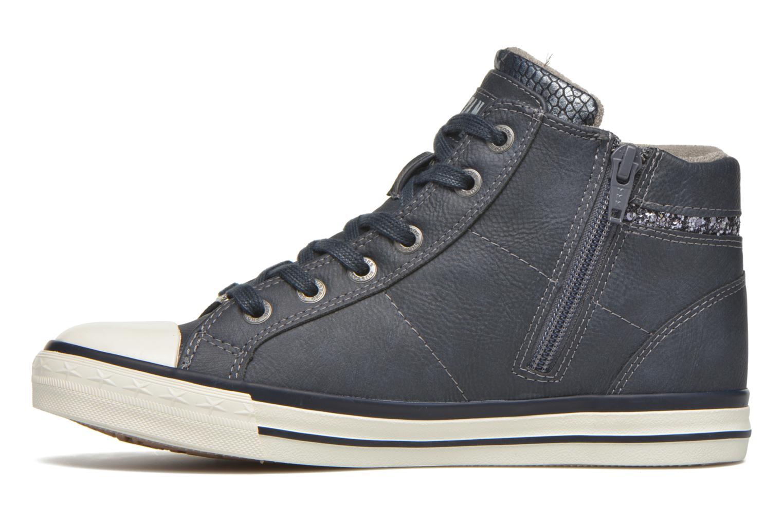 Baskets Mustang shoes Leni Bleu vue face