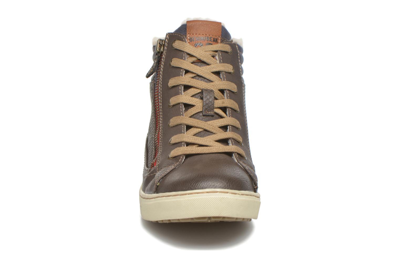 Baskets Mustang shoes Mitzi Noir vue portées chaussures