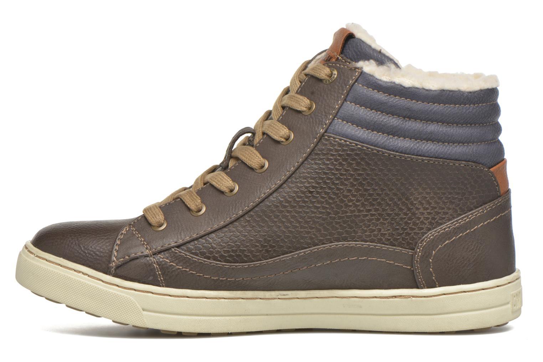 Sneakers Mustang shoes Mitzi Zwart voorkant