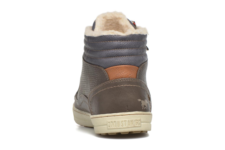 Sneakers Mustang shoes Mitzi Zwart rechts