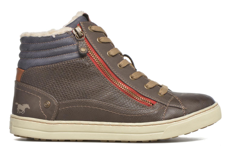Sneakers Mustang shoes Mitzi Zwart achterkant
