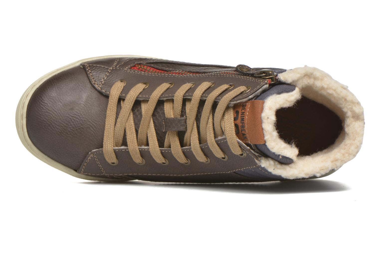 Sneakers Mustang shoes Mitzi Zwart links