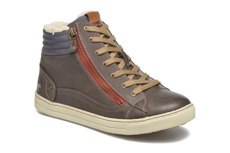 Baskets Mustang shoes Mitzi Noir vue détail/paire
