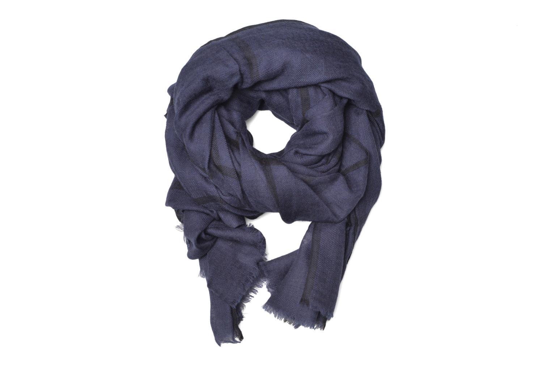 Divers Petite mendigote HARISSA Foulard laine 100x200 Bleu vue détail/paire
