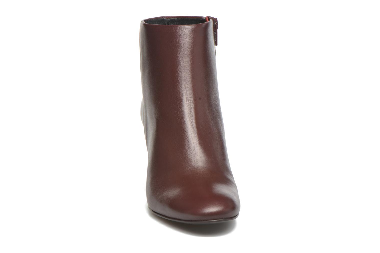 Bottines et boots Georgia Rose Divala Bordeaux vue portées chaussures