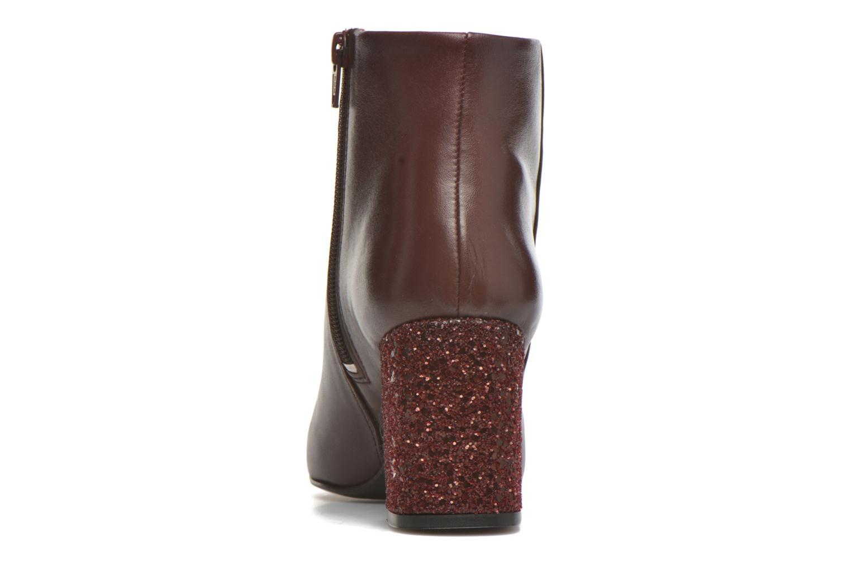 Bottines et boots Georgia Rose Divala Bordeaux vue droite