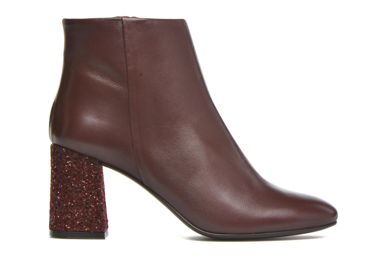 Bottines et boots Georgia Rose Divala Bordeaux vue derrière