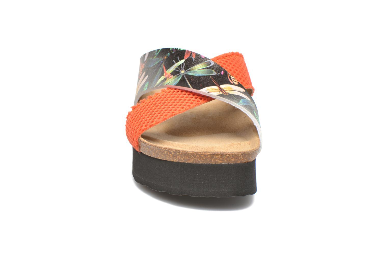 Mules et sabots Desigual SHOES_MEGARA Noir vue portées chaussures