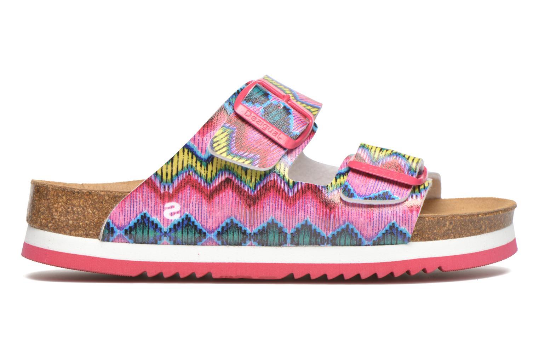 Sandales et nu-pieds Desigual SHOES_BIO 6 Rose vue derrière