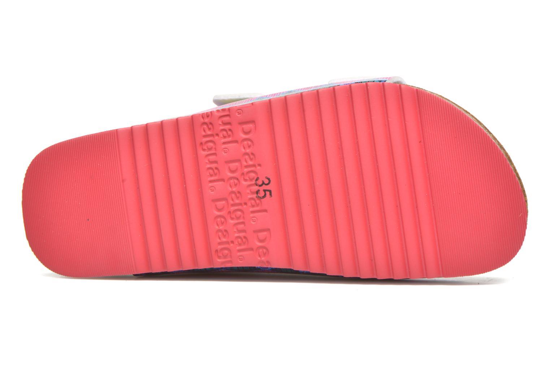 Sandales et nu-pieds Desigual SHOES_BIO 6 Rose vue haut