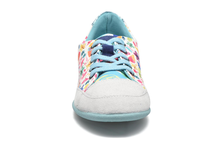 Baskets Desigual SHOES_MINI HAPPY 2 J Blanc vue portées chaussures