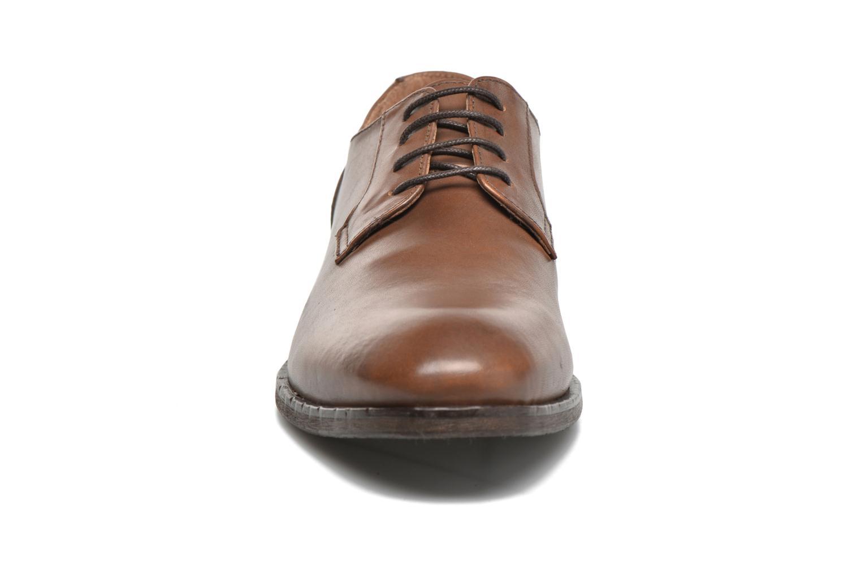 Chaussures à lacets Selected Homme Antonio Marron vue portées chaussures