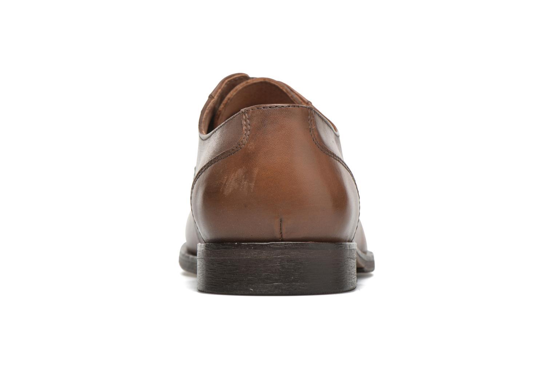 Chaussures à lacets Selected Homme Antonio Marron vue droite