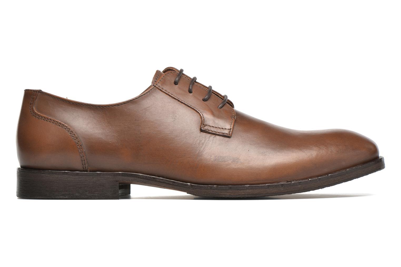Chaussures à lacets Selected Homme Antonio Marron vue derrière