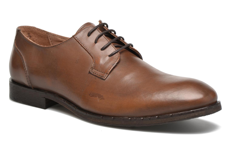 Chaussures à lacets Selected Homme Antonio Marron vue détail/paire