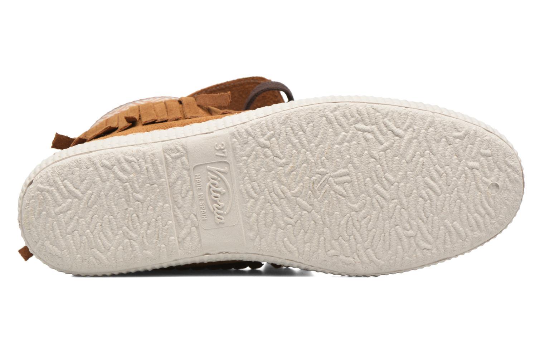 Sneakers Victoria Botin Flecos Serraje F Brun se foroven