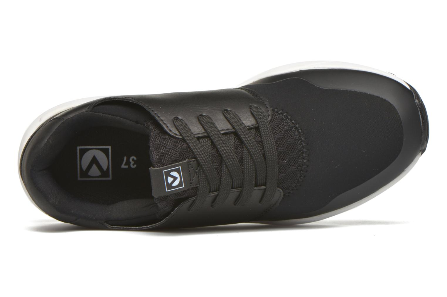 Trainers Victoria Sneakers neopreno Black view from the left