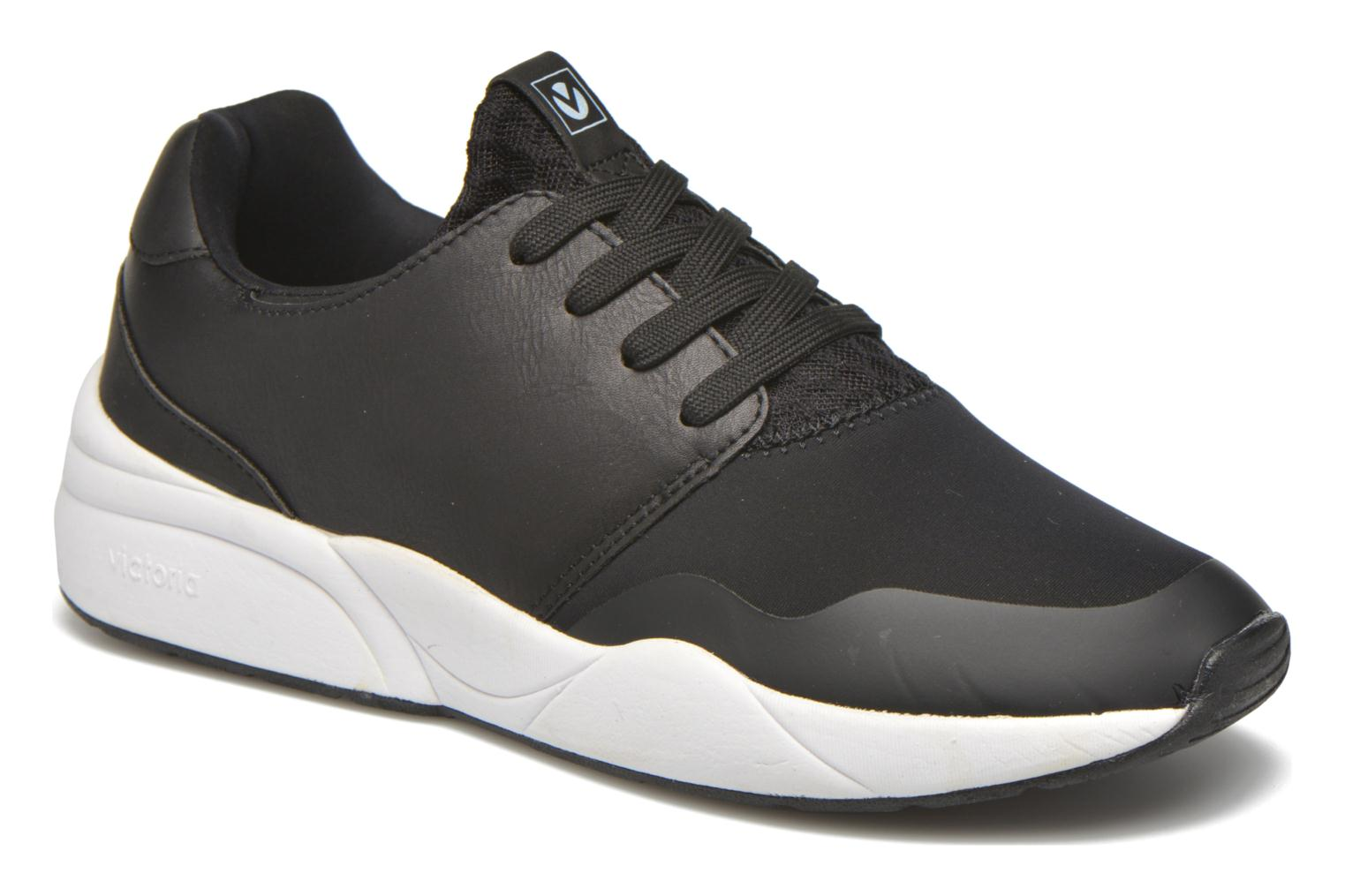 Trainers Victoria Sneakers neopreno Black detailed view/ Pair view