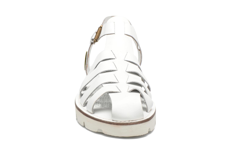 Sandales et nu-pieds Les Tropéziennes par M Belarbi Maria Blanc vue portées chaussures