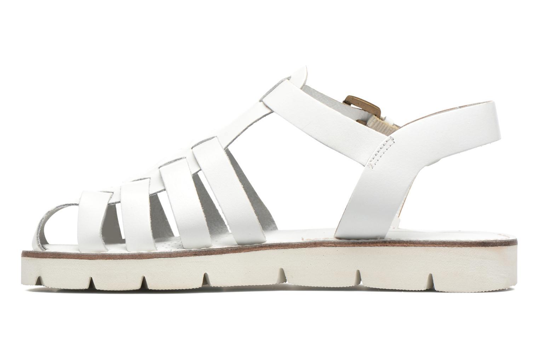 Sandales et nu-pieds Les Tropéziennes par M Belarbi Maria Blanc vue face