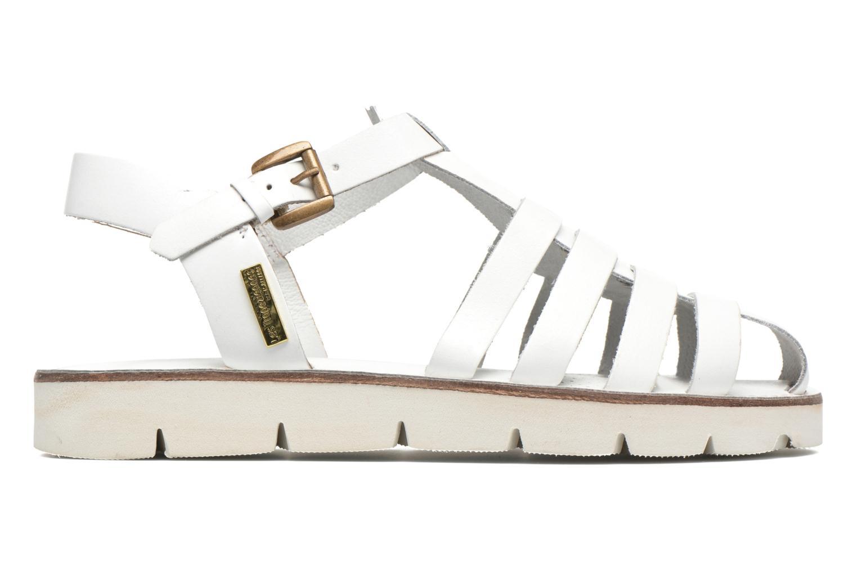 Sandales et nu-pieds Les Tropéziennes par M Belarbi Maria Blanc vue derrière
