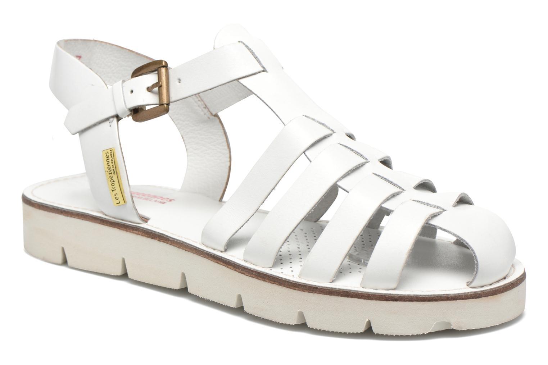 Sandales et nu-pieds Les Tropéziennes par M Belarbi Maria Blanc vue détail/paire
